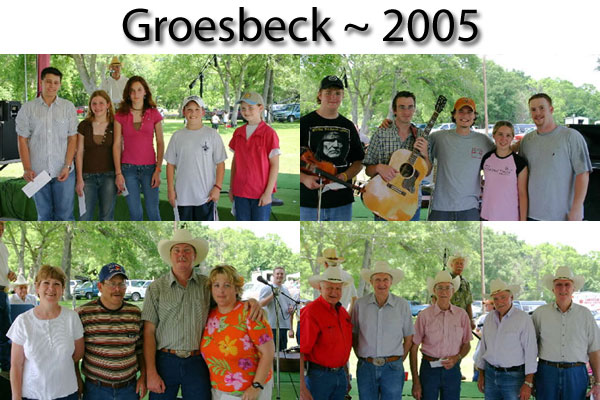 2005 Groesbeck Fiddle Contest